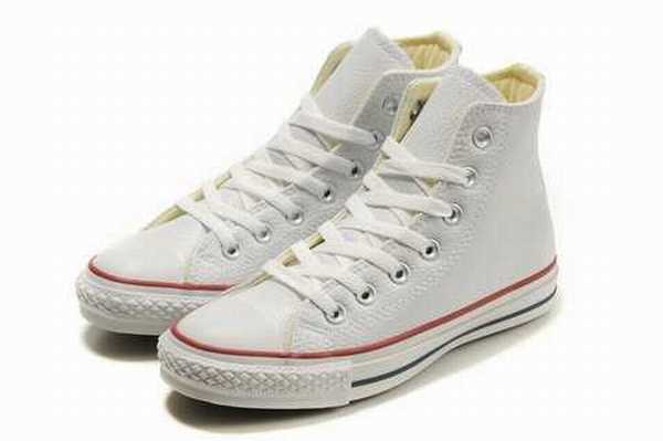 chaussure converse cuir noir monochrome,chaussure converse